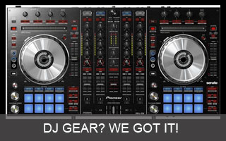 Huge selection of DJ Gear and Lighting