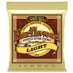 Ernie Ball P02004 Earthwood Light 80/20 Bronze Acoustic Guitar Strings - 11-52 Gauge