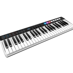 IK Multimedia IPIRIGKEYSIO49 49-key MIDI Controller and USB Audio Interface with Software Package - Mac/PC/iOS